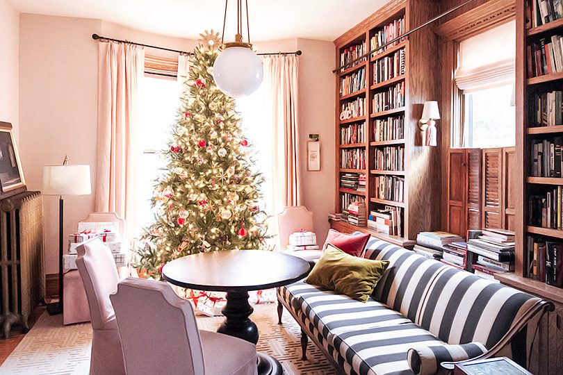 Christmas in the Lovely Victorian Library | Making it Lovely