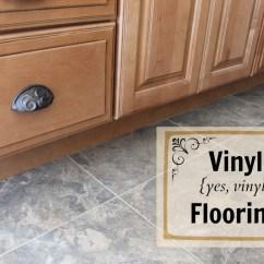 Kitchen Vinyl Flooring Outdoor Stainless Steel Cabinet Doors I Can T Believe It S Not Tile