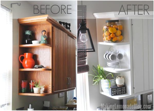 kitchen on a budget carpet friendly modern white renovation amazing transformation kitchens