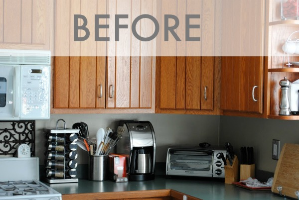remodeling kitchen on a budget shelving for pantry friendly modern white renovation amazing transformation kitchens