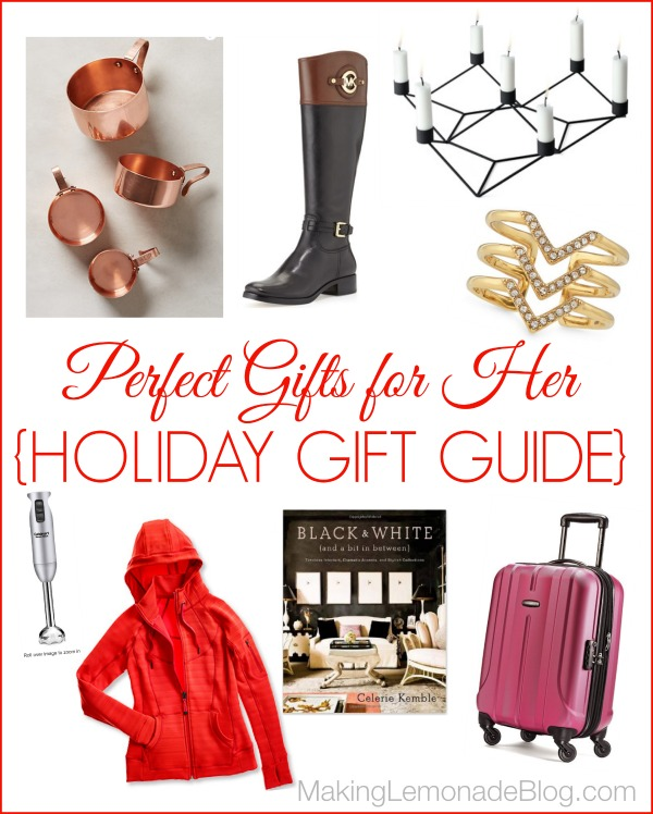 Great Gift Ideas For HER Holiday Gift Guide