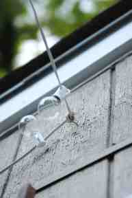 How To Hang Outdoor String Lights The Deck Diaries Part 3 Making Lemonade