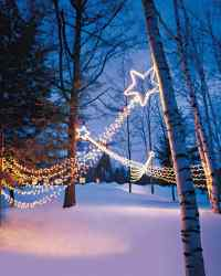 15 Beautiful Christmas Outdoor Lighting DIY Ideas