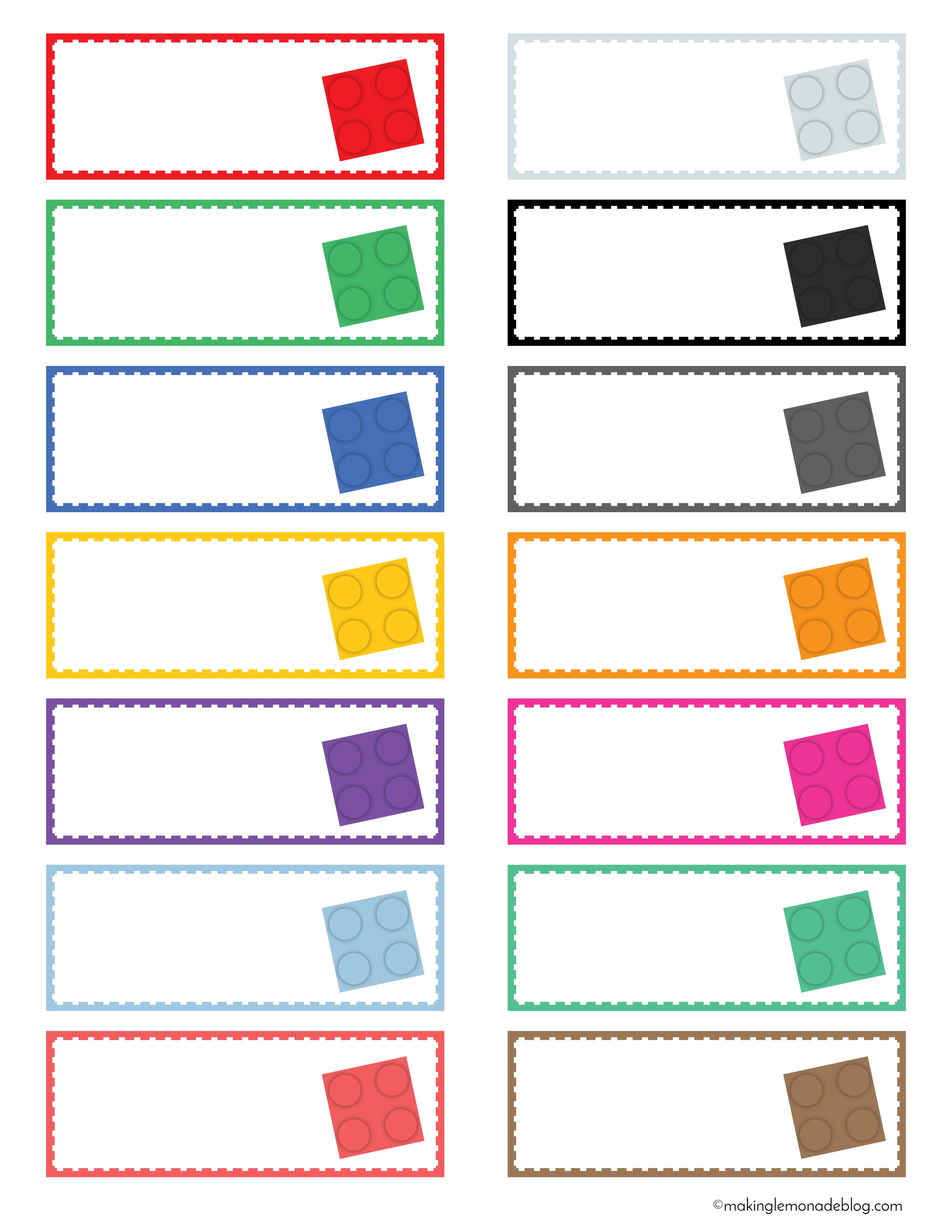 The Magical Lego Organizing Solution Amp Free Printable Labels