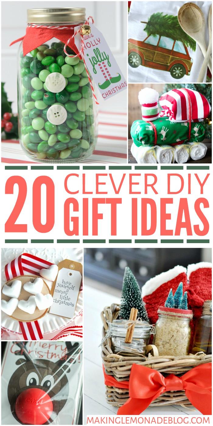 Easy To Make Homemade Christmas Gifts