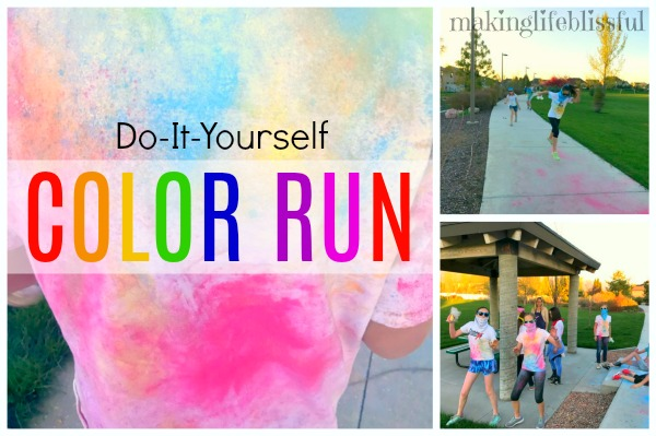 Diy color run for youth groups and parties making life blissful for lds young women groups publicscrutiny Gallery