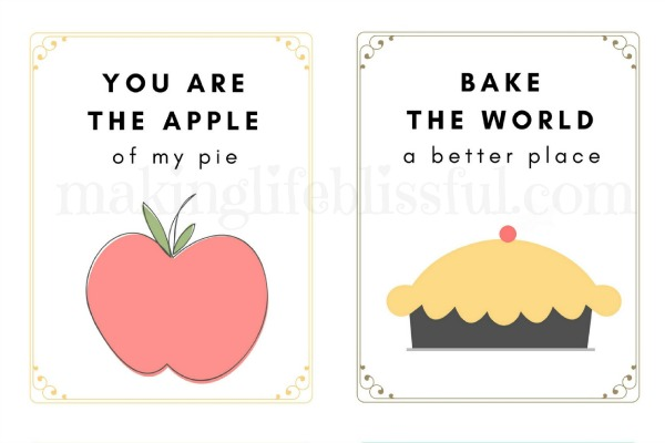 Kitchen Decor Printables