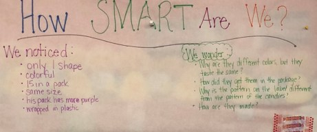 Smarties Notice and Wonder