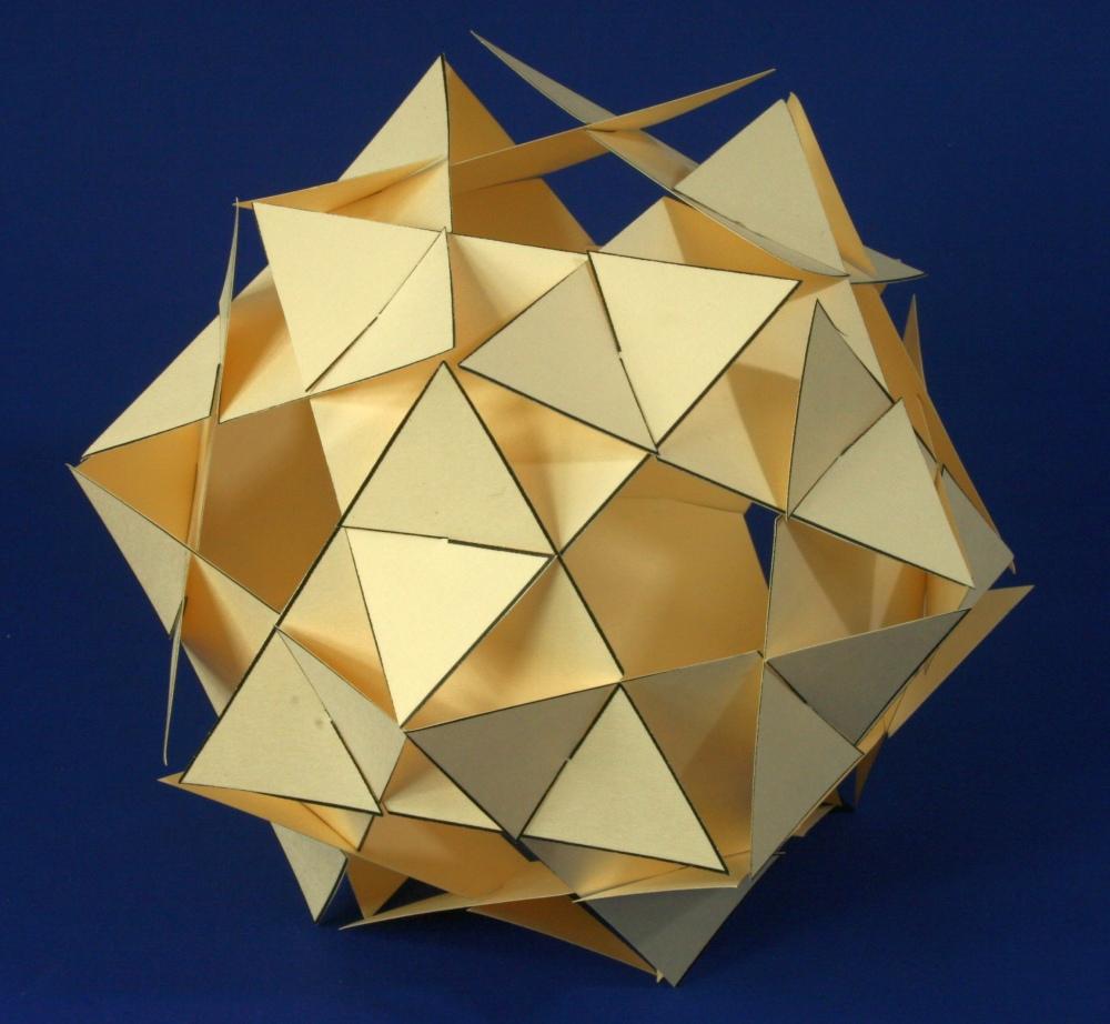 Paper Triangle Ball