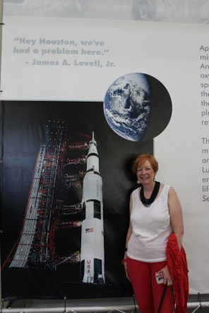 At the Space Center, no more Houston problems