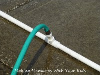 Pvc Pipe Garden Hose Connector