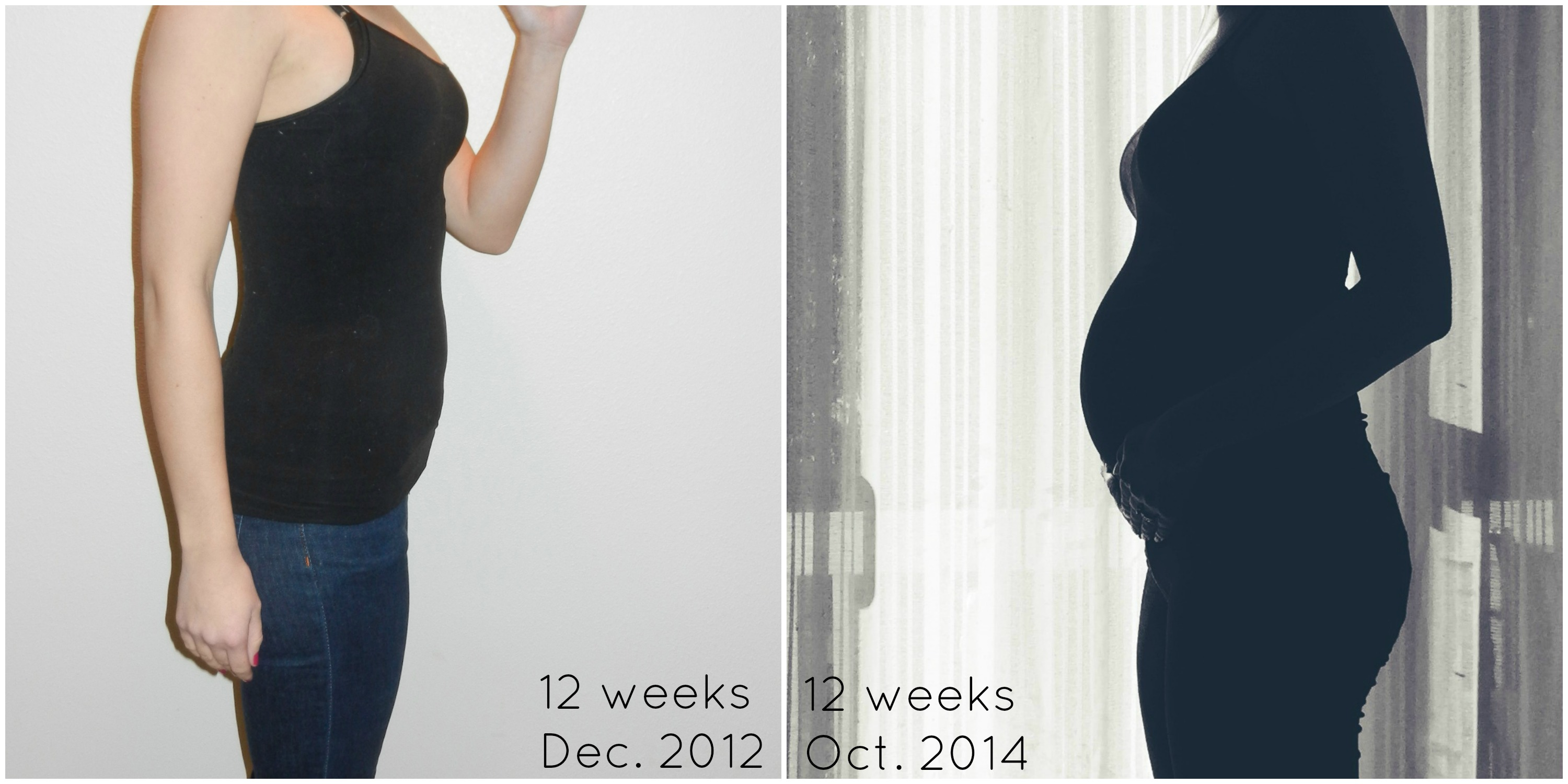 The 1st Trimester Baby 1 Vs Baby 2
