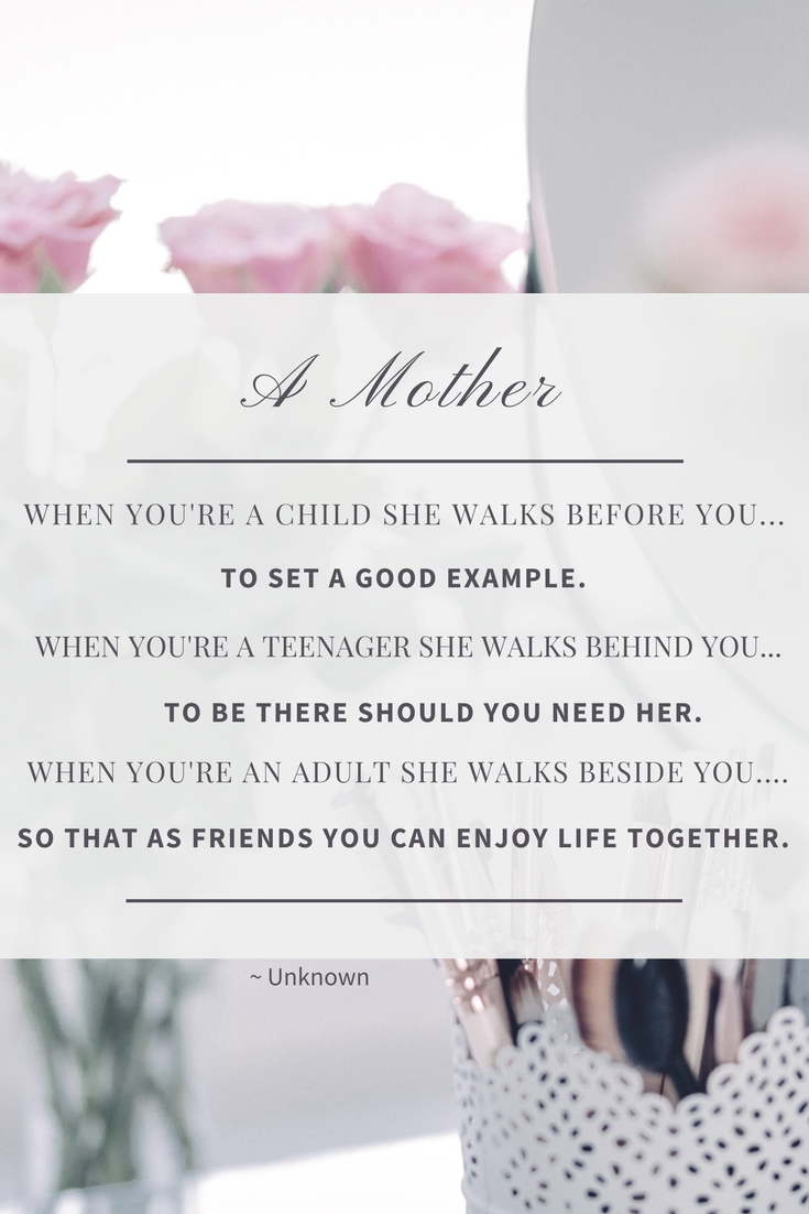 Letters To Mom Not Everyone Gets To Grow Up With Their Mom As Their