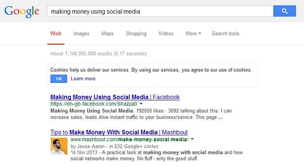making money google screenshot_new2