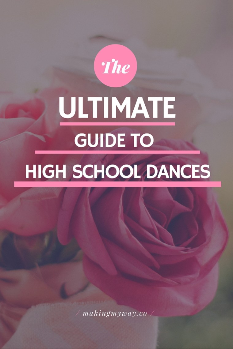 The Ultimate Guide To High School Dances