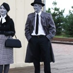 Grayscale Film Noir Costumes Making Nice In The Midwest