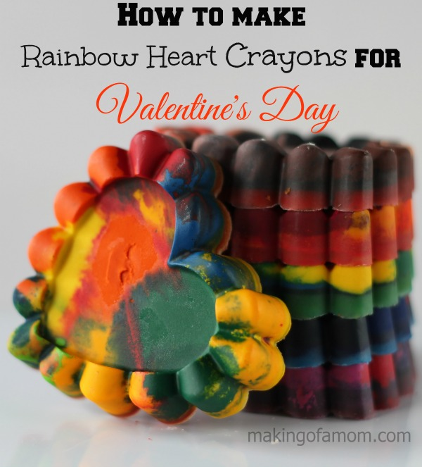 Valentines Day Crayons