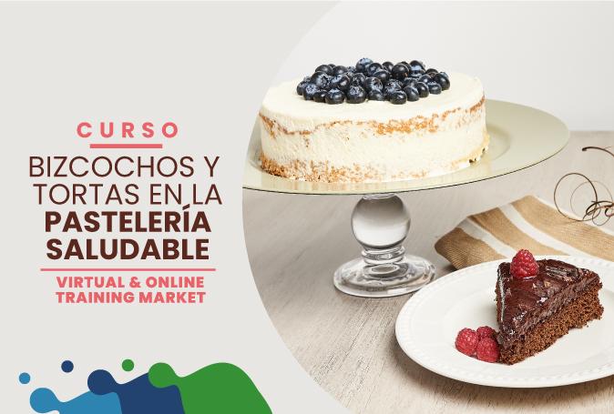 BIZCOCHOS Y TORTAS EN LA PASTELERÍA SALUDABLE