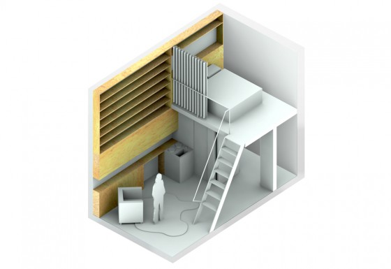 Making Room  A Home Of Ones Own  MicroLofts For Single