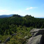 Blick von der Leistenklippe auf den Brocken