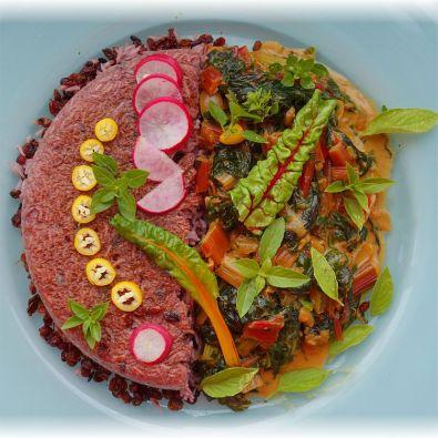 Reisgericht mit Mangold aus dem Pars Khazar