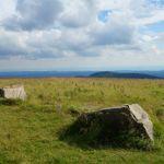 Blick vom Brocken auf den Wurmberg