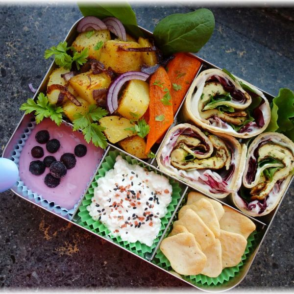 Lunchbox LunchBots Bento Cinco