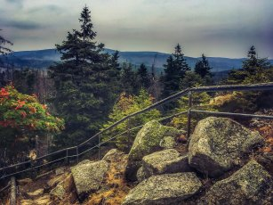 Auf dem Achtermann - Abstieg