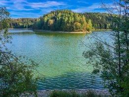 Baden und schwimmen an der Talsperre Wippra