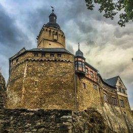 Burg Falkenstein - Innenbesichtigung ist möglich und lohnenswert!