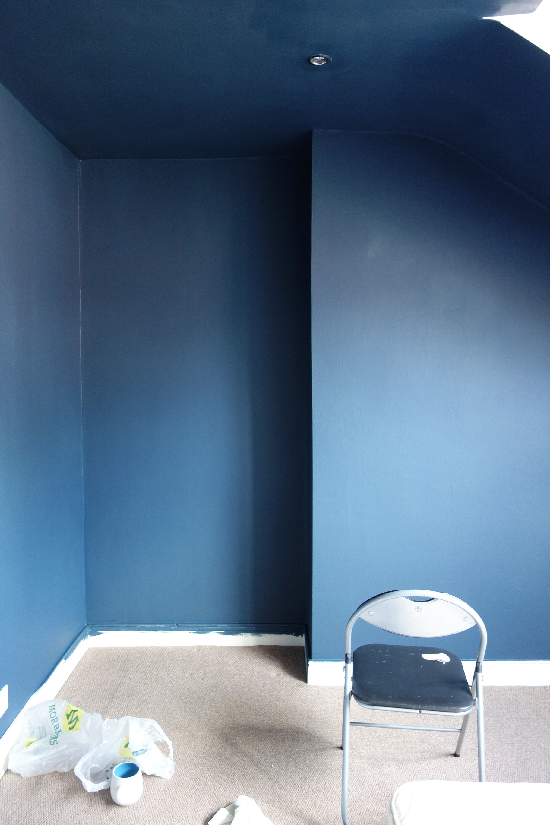 The Blue Room  making spaces