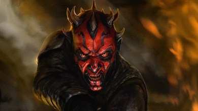 Photo of Darth Maul Comic Book Description in May 2014 Solicitation