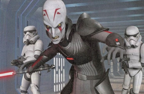 rebels 2 1 - New Star Wars Rebels Preview in the New EW!