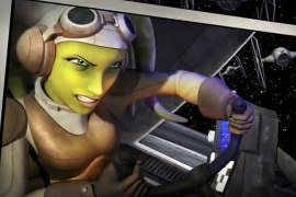 "Star Wars Rebels Hera - Disney XD's ""Show Me the Monday"" with Star Wars Rebels Preview"