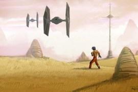 ezra02 - Star Wars Rebels: Ezra Short and Two New Teasers