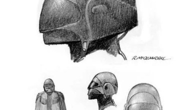 Photo of Star Wars Rebels' Inquisitor is based on Earliest Ralph McQuarrie Concept Art!