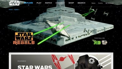 Photo of StarWars.com's Official Page For Star Wars Rebels Now Available!