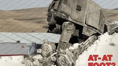 Photo of Is there an AT-AT foot in the Abu Dhabi desert?