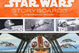 Storyboardbook e1399492570868 - Awesome Star Wars Storyboards Book Trailer!
