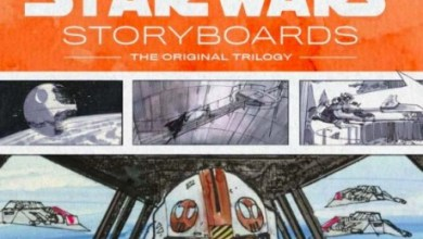 Awesome Star Wars Storyboards Book Trailer!