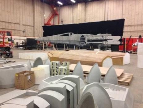 millennium falcon star wars spoiler sneak peek behind the scenes photos 016 480w