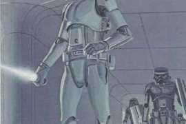 ralph mcquarrie stormtrooper concept art star wars fr 1 - Photo of Star Wars: Episode VII's Chrome Stormtrooper!