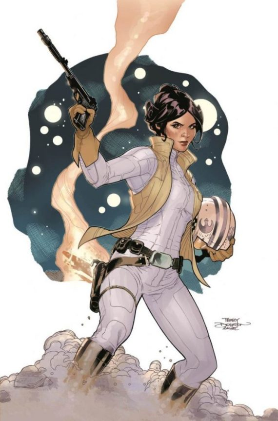Star Wars Leia Dodson cov - Marvel announces 3 new Star Wars titles