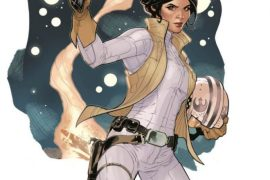 Star Wars Leia Dodson cov - Accurate sketch of Princess Leia's costume in Star Wars: The Force Awakens!