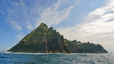 Photo of Star Wars: The Force Awakens' Location Skellig Michael: Past, Present, and Future!