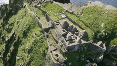 Photo of Star Wars: Episode VIII filmed at Skellig Michael and no animals were hurt.