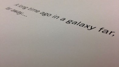 "Photo of Star Wars Stand-Alone Spin-off: Whitta shares pic of opening ""A long time ago"" text?"