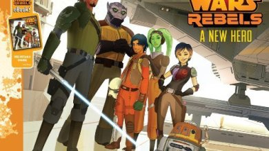 Andrews Review:  Star Wars Rebels: A New Hero by Pablo Hidalgo