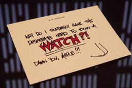 watch - New J.J. Abrams index card shows Imperial looking background.