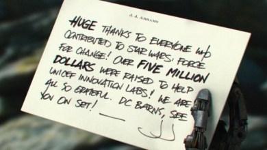 Photo of Max Von Sydow's role in Star Wars: Episode VII?